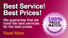 Best Service! Best Prices! Guaranteed!
